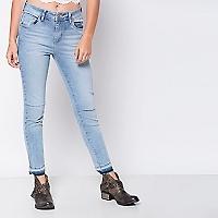 Jeans Gastados Skinny
