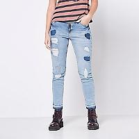 Jeans High Rasgado