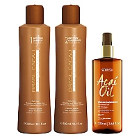 Set Tratamiento Capilar Shampoo Anti-Frizz + Acondicionador Anti-Frizz + Acaí Oil