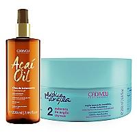 Set Tratamiento Capilar Máscara de Argila + Acaí Oil