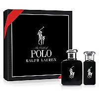 Set Cofre Polo Black EDT 75 ML + Travel Spray 30 ML