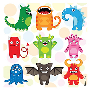 Puzzle 30 piezas Mini Monsters
