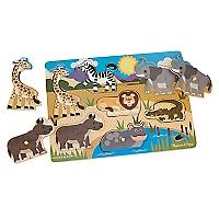 Puzzle de Animales Salvajes