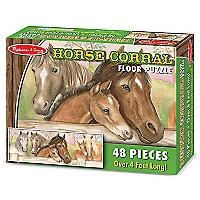 Horse Corral Floor Puzzle 48 pcs