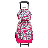 Mochila Backpack W Wheels Watermelon