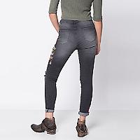 Jeans Bordados High