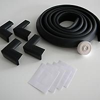 Set Protector Bordes/Esquina Negro