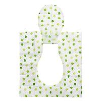 Asiento Desechable Cubre Inodoro Verde