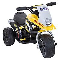 Moto a Batería 3 Ruedas Amarilla