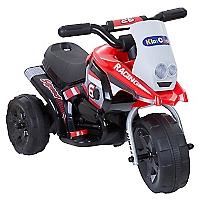 Moto a Batería 3 Ruedas Roja