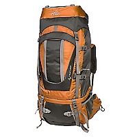 Mochila Telica 60 Orange / D.Grey