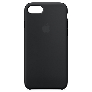 Carcasa iPhone 7 Silicona Black