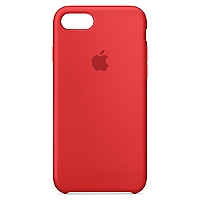 Carcasa iPhone 7 Silicona (PRODUCT)RED