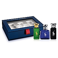 Set Polo Blue EDT 40 ML + Polo EDT 30 ML + Polo Black EDT 30 ML
