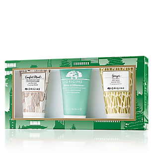 Set Hidratante Ginger Hand Lotion + Comfort Mood Hand Lotion + Make a Difference Hand Treatment