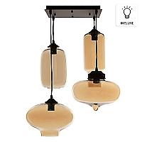 Lámpara Edison 4 Luces