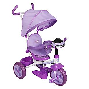 Triciclo Multietapa Musical Morado RS-4088