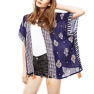 Kimono Greco Morado