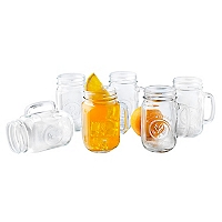 Set 6 Drinking Jar 488