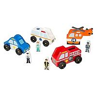 Set Autos de Emergencia