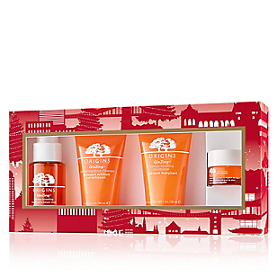 Set Hidratante Ginzing Energy Boosting Moisturizer + Ginzing Refreshing Scrub Cleanser + Ginzing Treatment Lotion + Ginzing Refreshing Eye Cream