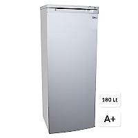 Freezer Vertical 180 lt Silver