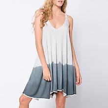 Vestido Bicolor Corto