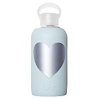 Botella Heart + Funda Silicona Silver