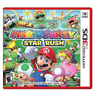 Juego Sw 3DS Mario Party Star Rush