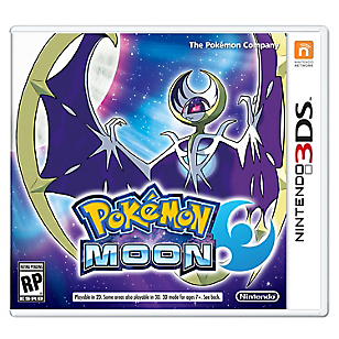 Juego Sw 3DS Pokemon Moon