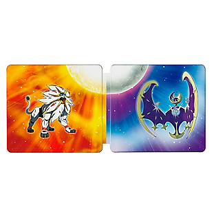 3DS Pokemon Sunand Moon Steelbook