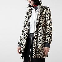 Abrigo Leopardo Pelo