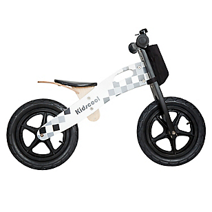 Bicicleta de Madera Negra