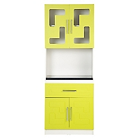 Mueble de Cocina Microondas 4 Puertas Carveg