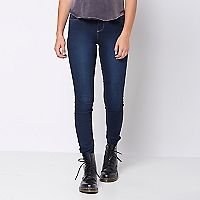 Jeans Mujer Liso Skinny