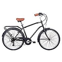 Bicicleta aro 26 city commuter negra