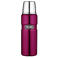 TERMO LIQUIDO 470ML KING ROSA ACERO INOXIDABLE