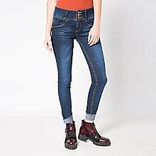 Jeans Focalizado Pretina Ancha