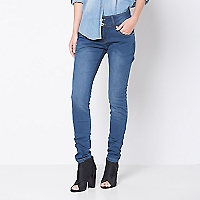 Jeans Mujer Lisos Skinny