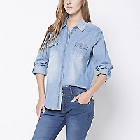 Blusa Lisa Denim