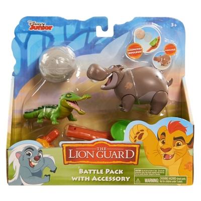 Figuras La Guardia del León Mod. Hipopótamo-Cocodrilo