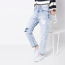 Jeans Rasgados Boyfriend