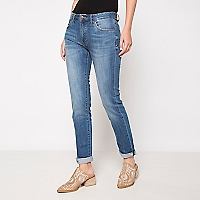 Jeans Recto Tiro Medio