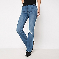 Jeans Bootcut Roturas