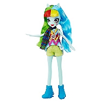 Equestria Girl Loe Rainbow Dash