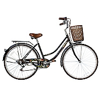 Bicicleta Aro 26 Retro Provenza Negra