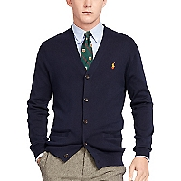 Sweater Liso Button Down