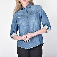 Blusa Degradé Denim