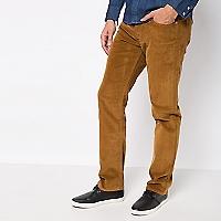 Pantalón 514 Cotelé Slim Straigth Fit