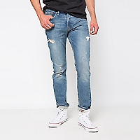 Jeans 511 Slim Skinny Fit con Roturas